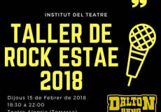 Taller de rock 2018 ESTAE